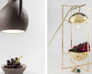 Slicing Objects to Make Contemporary Lighting