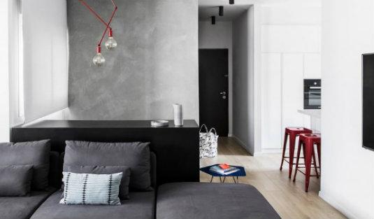 interior design project A contemporary interior design project with vivid color accents aa duplex yael perry interiors residential dezeen hero 1 852x479