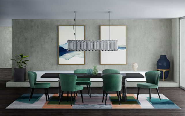 pantone color trends Get Inspired by the Pantone Color Trends for 2018! matheny rectangular suspension ambience 01 HR
