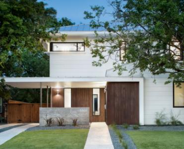Detached Contemporary Home Design Lighting The World
