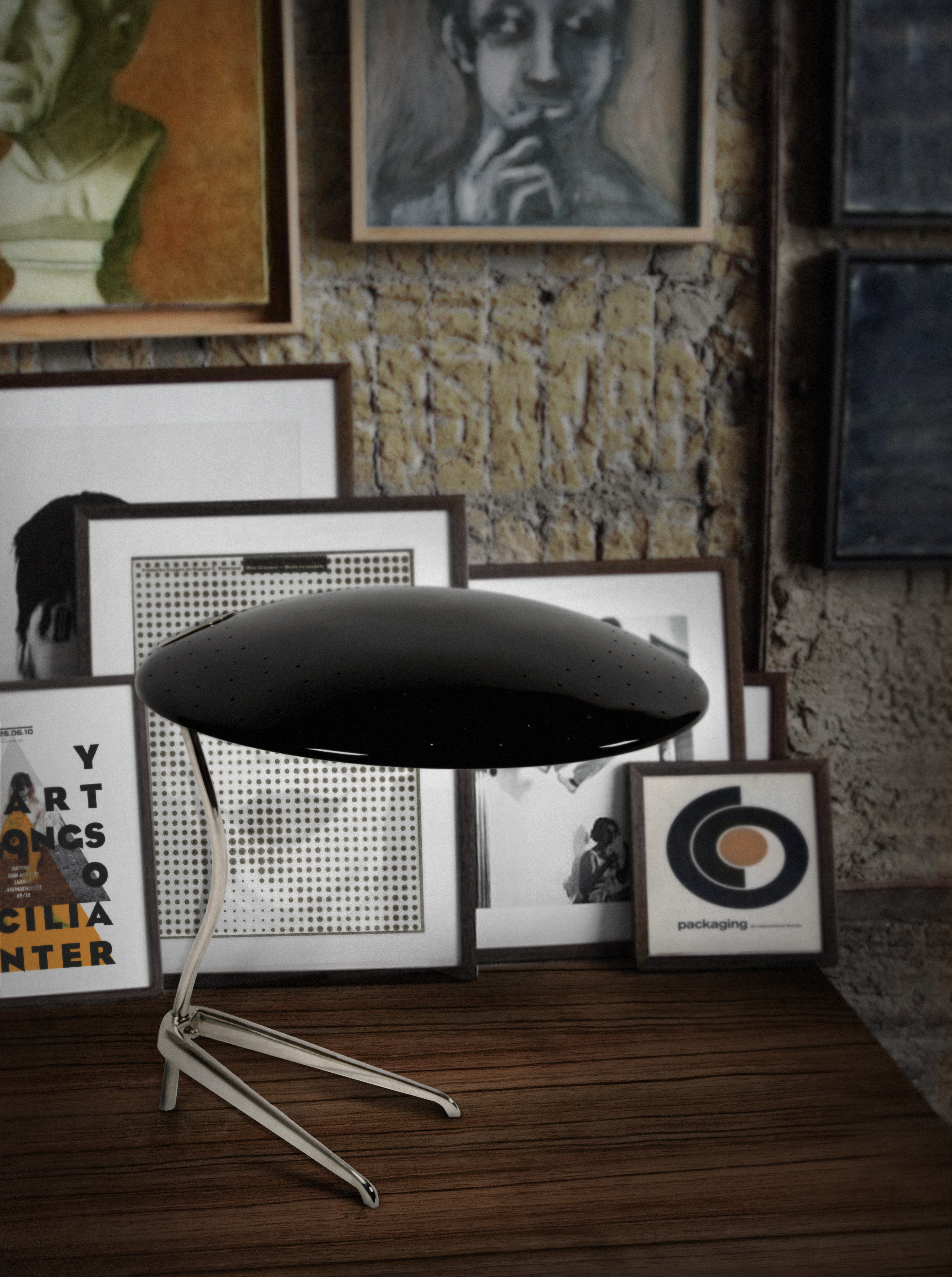 Meet The Light How Mid-Century Table Lamps Will Be The 2018 Hit 1