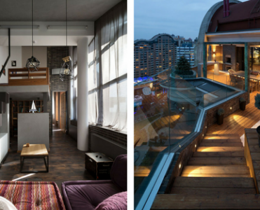 Kiev Home of The Contemporary Apartment Style To Look At Now!