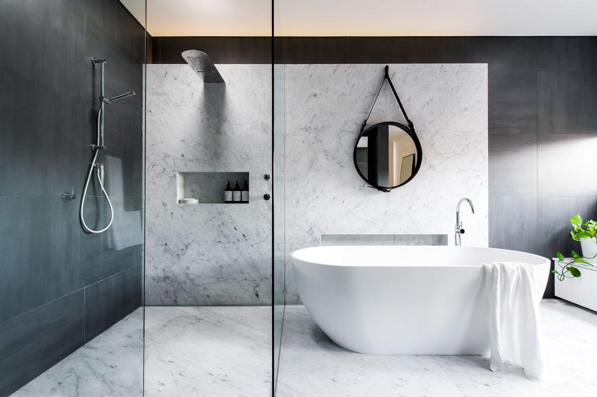 Contemporary Bathroom Style.