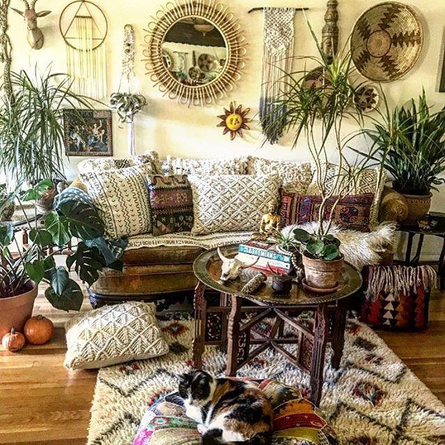 Boho Home Interior Decor Design Ideas 2