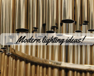 Modern Lighting Ideas_ Golden Everywhere!