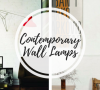 contemporary wall lamps Trend Of The Week on Pinterest: Contemporary Wall Lamps Trend Of The Week on Pinterest Contemporary Wall Lamps 100x90