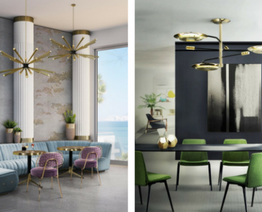 Trend Of The Week: Brass Modern Chandeliers
