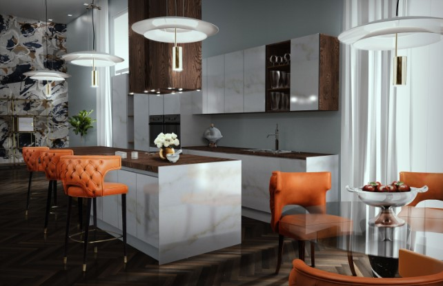 Trend Of The Week: Kitchen Suspension Lamps! Kitchen Suspension Lamps Trend Of The Week: Kitchen Suspension Lamps! basie suspension ambience 01 HR
