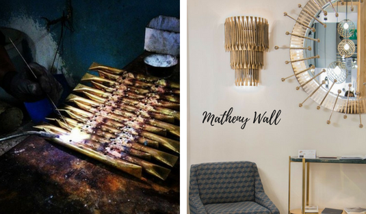 Matheny Wall Add A Special Glow To Your Interior Design With Matheny Wall! Matheny Wall