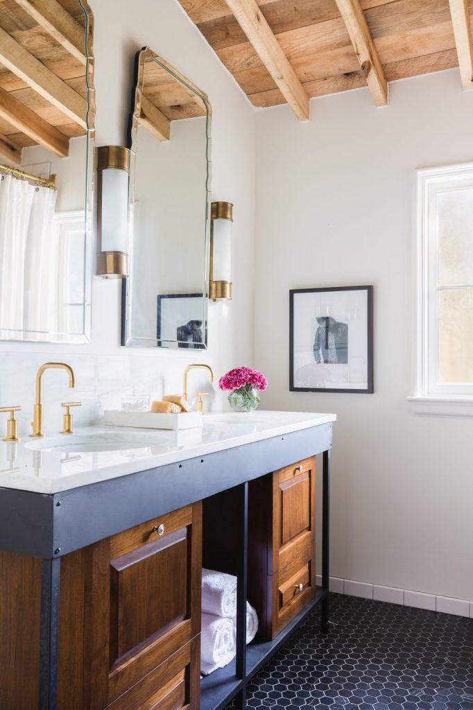 Mid-Century Modern Bathroom Inspirations! mid-century modern Mid-Century Modern Bathroom Inspirations! Mid century modern bathroom inspirations 2 682x1024