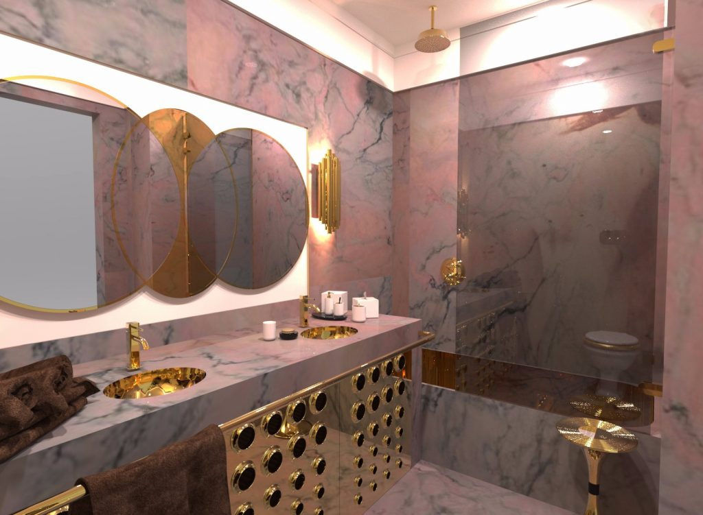 Mid-Century Modern Bathroom Inspirations! mid-century modern Mid-Century Modern Bathroom Inspirations! Mid century modern bathroom inspirations 4 1024x751