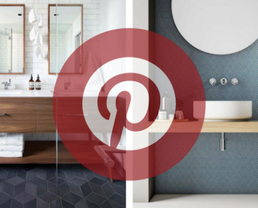 What Is Hot On Pinterest: Mid Century Bathroom Décor!