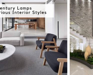 Mid-Century Lamps In Various Interior Styles