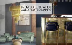 gold plated lamps TREND OF THE WEEK: GOLD PLATED LAMPS TREND OF THE WEEK GOLD PLATED LAMPS 240x150