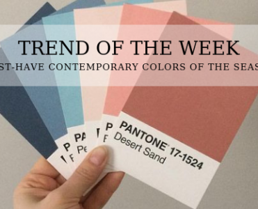 TREND OF THE WEEK: MUST-HAVE CONTEMPORARY COLORS OF THE SEASON contemporary colors TREND OF THE WEEK: MUST-HAVE CONTEMPORARY COLORS OF THE SEASON Trend of the Week 2 371x300