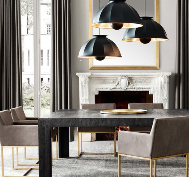 What's Hot On Pinterest Contemporary Lighting For Your Dining Room (2)