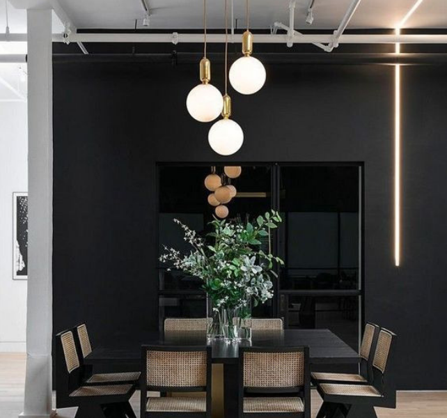 What's Hot On Pinterest Contemporary Lighting For Your Dining Room (5)