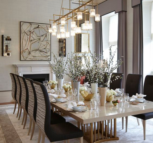 What's Hot On Pinterest Contemporary Lighting For Your Dining Room (6)