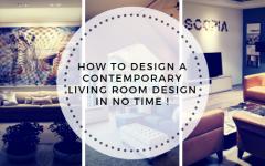 contemporary living room design How To Design a Contemporary Living Room Design in No Time ! Blue Wood 1 240x150
