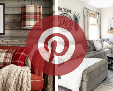 What is Hot on Pinterest: Winter Living Room Décor!
