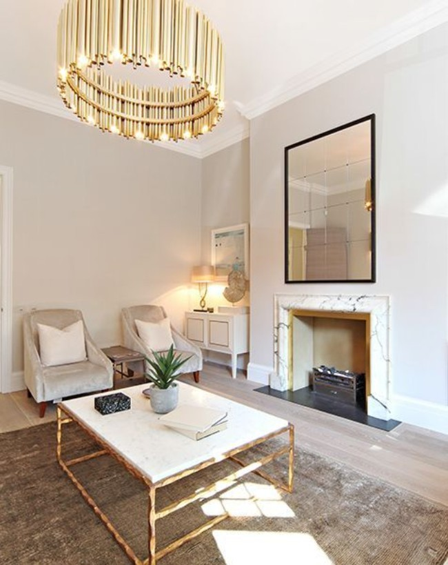 What is Hot on Pinterest: Gold Suspension Lamps and Where to Get Them!