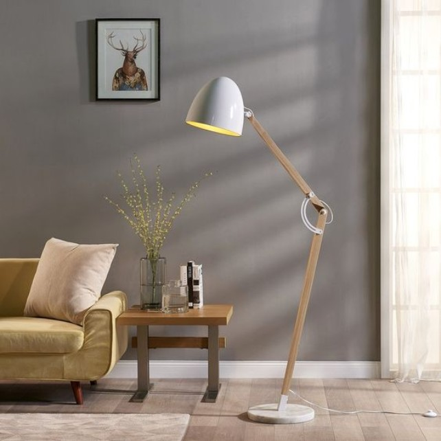 What Is Hot On Pinterest: White Floor Lamps! white floor lamps What Is Hot On Pinterest: White Floor Lamps! 5