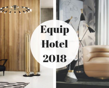 Mid Century Floor And Suspension Lamps You'll See At Equip Hotel!