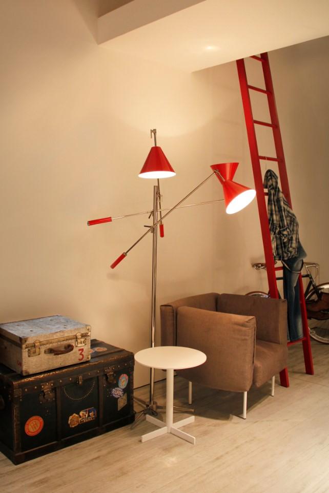 mid century floor and suspension lamps Mid Century Floor And Suspension Lamps You'll See At Equip Hotel! sinatra floor ambience 02 HR