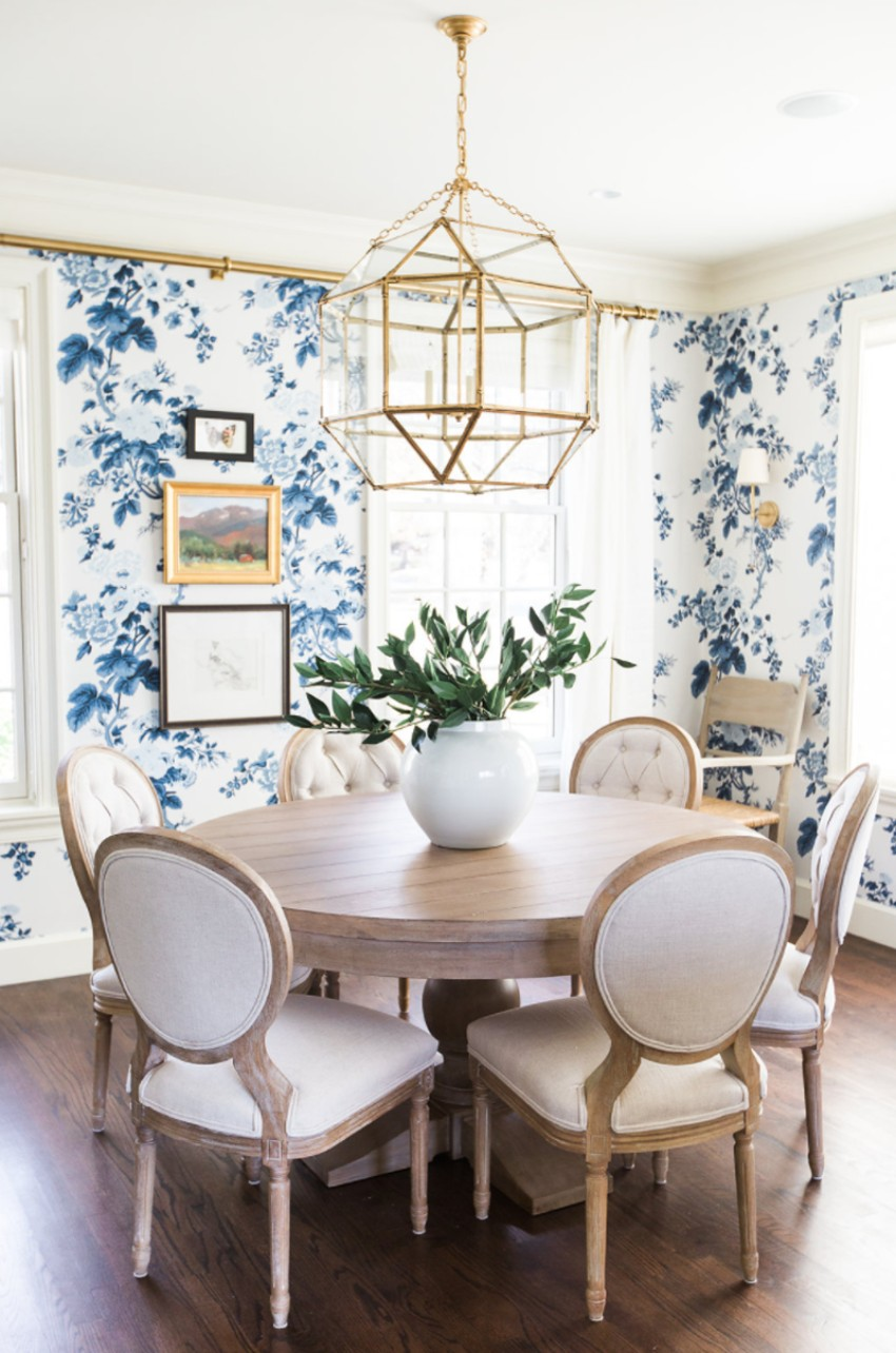 5 Blue Vintage Dining Rooms You'll Fall For! blue vintage dining rooms 5 Blue Vintage Dining Rooms You'll Fall For! 4 5