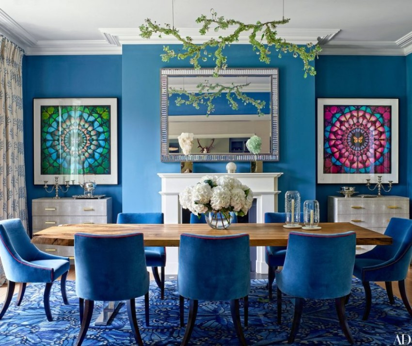 5 Blue Vintage Dining Rooms You'll Fall For! blue vintage dining rooms 5 Blue Vintage Dining Rooms You'll Fall For! 5 5
