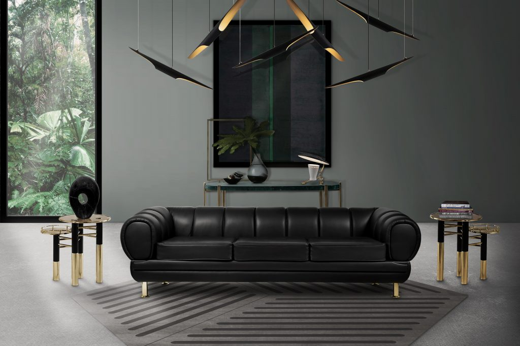 Decorate Your Living Room With These Leather Sofas!