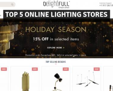 Top 5 Online Lighting Stores For Luxurious Lighting Pieces!