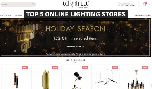 online lighting stores Top 5 Online Lighting Stores For Luxurious Lighting Pieces! farmto table