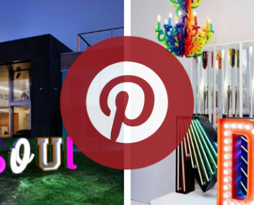 What is Hot on Pinterest: Marquee Lamps That Will Enlighten Your 2019!