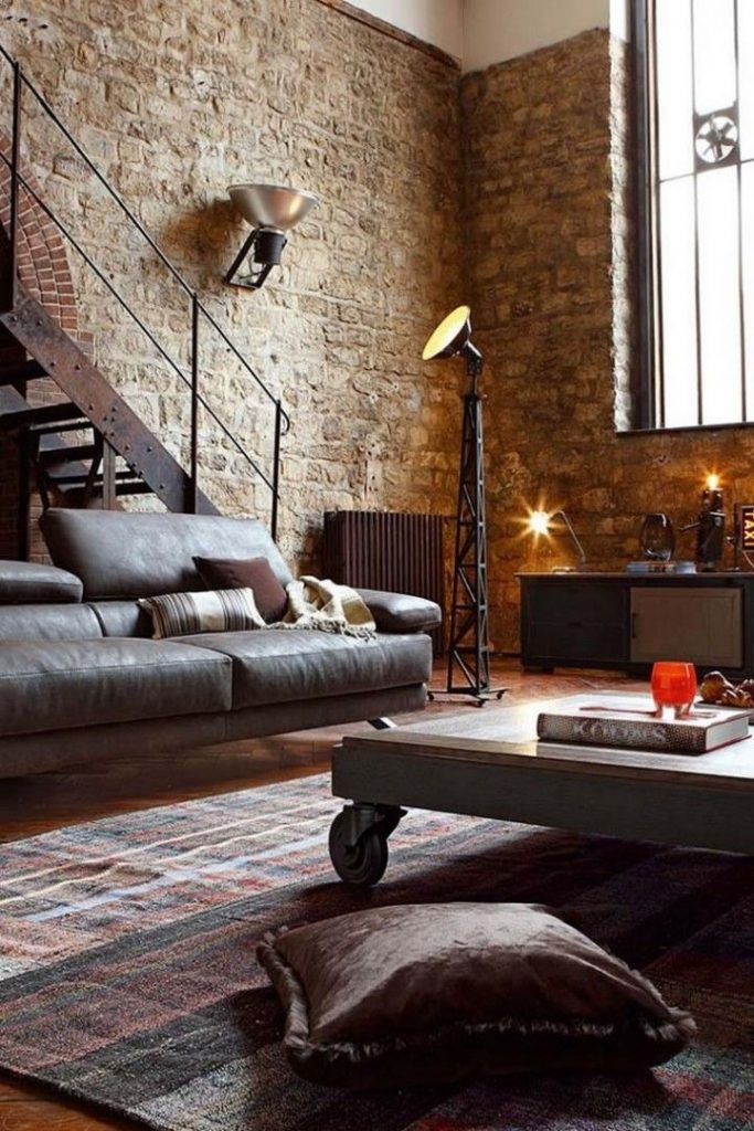 industrial living room Have The Perfect Industrial Living Room With Contemporary Lighting! Have The Perfect Industrial Living Room With Contemporary Lighting 1