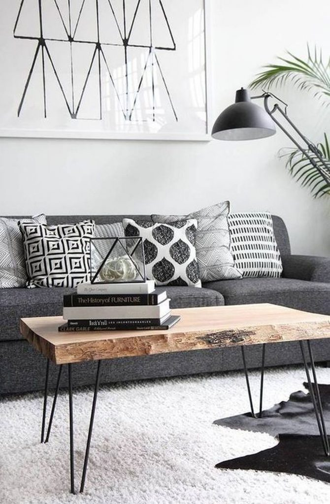 The Living Space : Have The Perfect Industrial Living Room With Contemporary ...