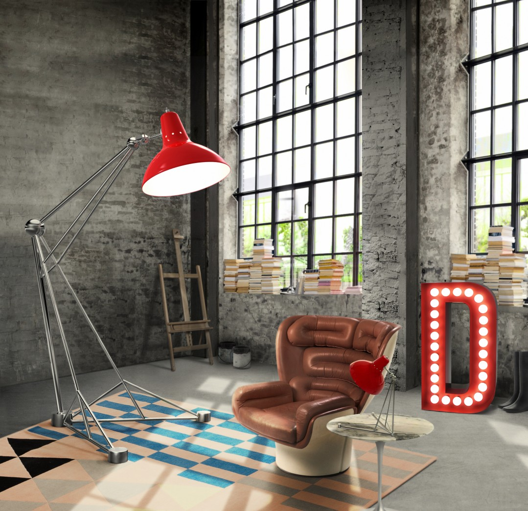 industrial living room Have The Perfect Industrial Living Room With Contemporary Lighting! Have The Perfect Industrial Living Room With Contemporary Lighting 6