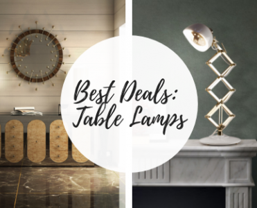 Best Deals: Mid Century Table Lamps With a Contemporary Twist!