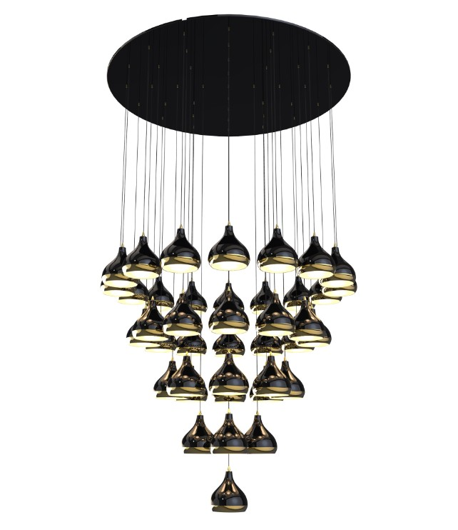 trend of the week trend of the week Trend Of The Week: A Mid Century Lighting Family That You'll Love To Meet! hanna chandelier detail 02 HR
