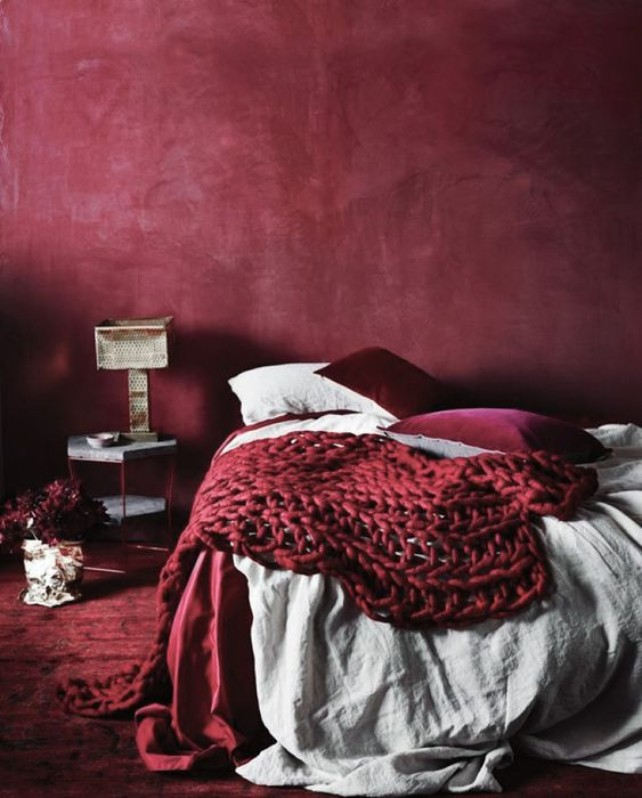 Red Décor Ambiances What is Hot on Pinterest: Red Décor Ambiances To Inspire You! 1 1