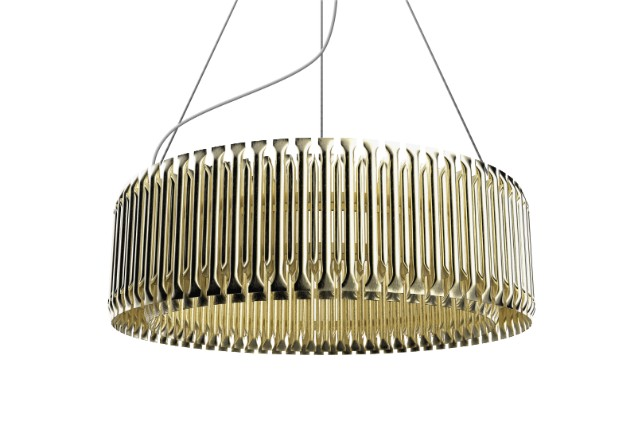 suspension lamps A Travel Back in Time: Let's Go Back to Classics with These Suspension Lamps! matheny round suspension detail 01 HR