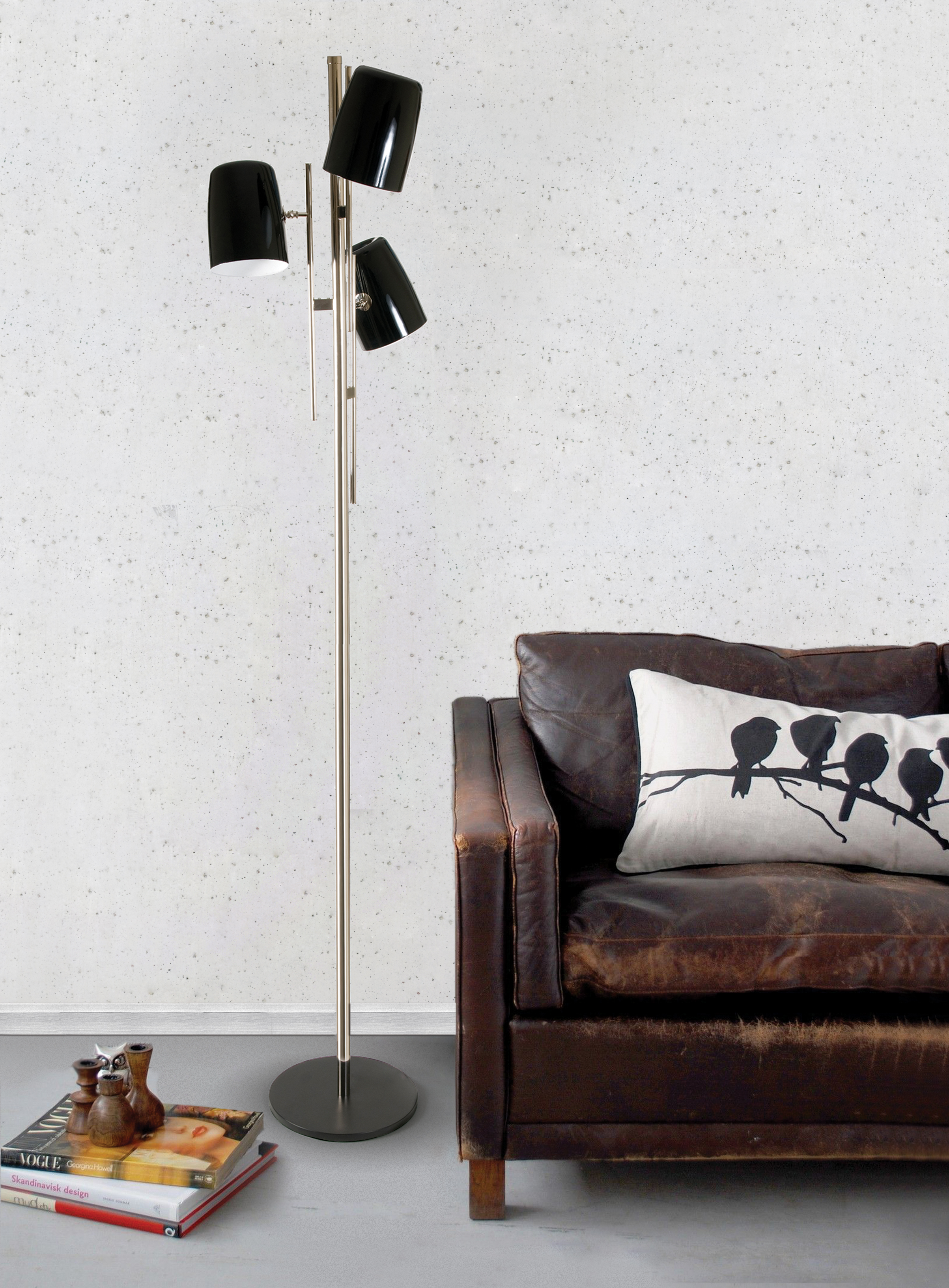 cole floor lamp cole floor lamp Cole Floor Lamp Is An Homage To Nat King Cole! Contemporary Lighting Pays Tribute With Cole Floor Lamp2