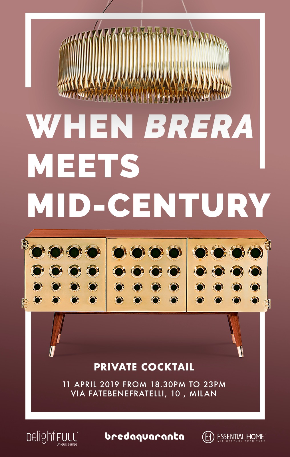 When Brera Meets Mid Century: The Contemporary Lamps That Will Enlighten The Event! contemporary lamps When Brera Meets Mid Century: The Contemporary Lamps That Will Enlighten The Event! brera event