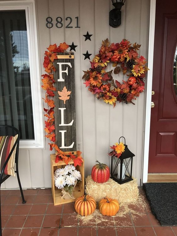 What is Hot on Pinterest: Fall in Love With These Fall Home Decorations! fall home decoration What is Hot on Pinterest: Fall in Love With These Fall Home Decorations! 1 3