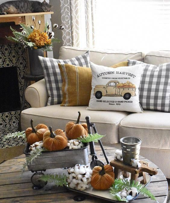 Love With These Fall Home Decorations