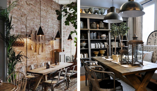 industrial dining room Industrial Dining Room Decor With These Mid-Century Lamps! Design sem nome 29